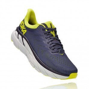 HOKA ONE ONE Clifton 7 ODYSSEY GREY / EVENING PRIMROSE Homme