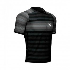 COMPRESSPORT Tee-shirt manche courte RACING Homme | Noir