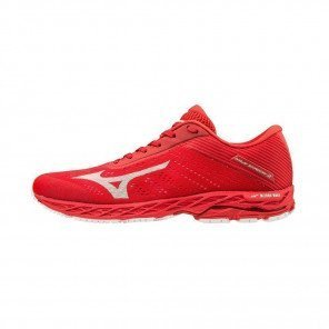 MIZUNO WAVE SHADOW 3 Homme | High Riskred / White