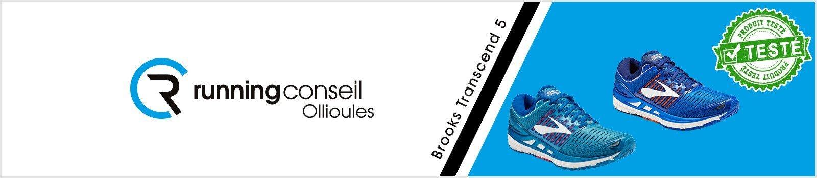 Test Brooks Transcend 5 homme et femme - Running Conseil Toulon (Ollioules)