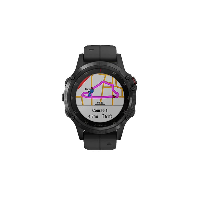 GARMIN fēnix® 5 Plus | Black avec bracelet noir